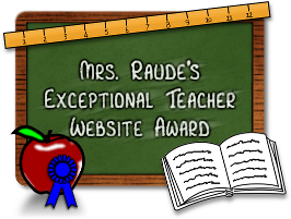 Exceptional Teacher Website Award